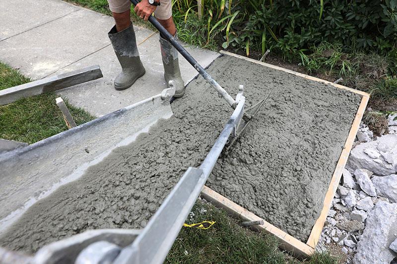 concrete driveway charlotte nc
